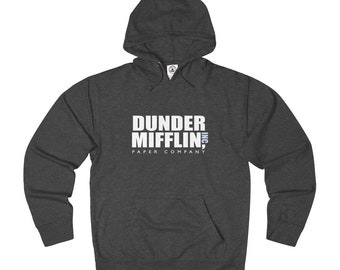the office merchandise. Dunder Mifflin Paper Company French Terry Hoodie - The Office Show Hoody Merchandise