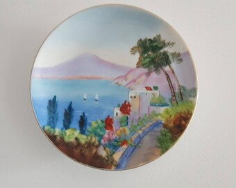 Hand painted Japanese collectors/ display/ cake  plate!!( no2)