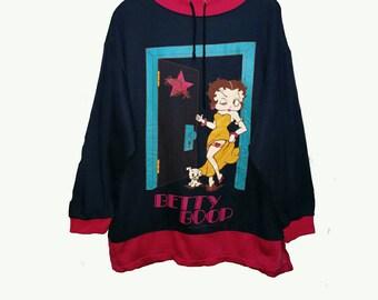 Vintage 90s betty boop sweatshirt M
