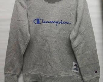 champions big logo sweatshirt S