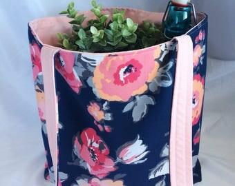 Market tote/book bag/tote bag