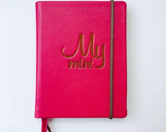 MyMini Diary notebook Agenda  Journal rose diary DIY