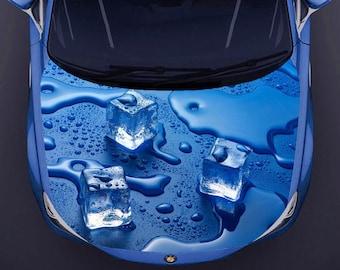 Car Hood Vinyl Decal Auto Hobby - Custom vinyl decals for car hoodscustom hood decals etsy