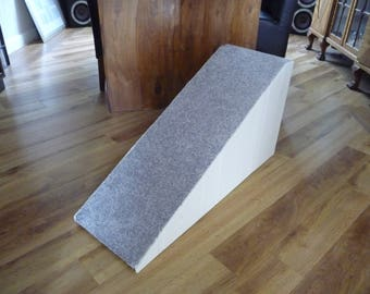 40cm High Doggy Ramp finished in Chalky White paint.