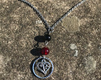 Stainless steel 16 inch necklace