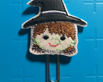 Witch Head Planner Clip