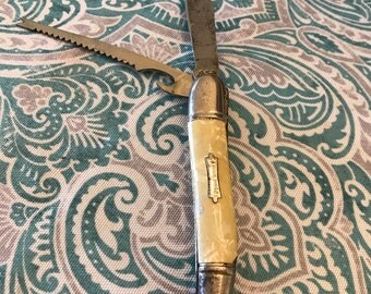 Vintage Fishing Pocket Knife