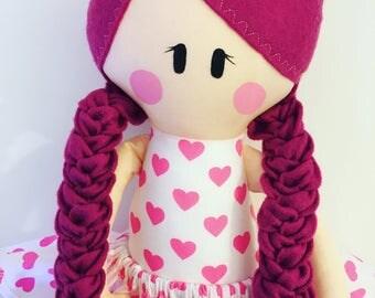 Doll Sewing Pattern ~ Doll Pattern ~ Rag Doll Pattern ~ PDF  Sewing Pattern ~ Baby Sewing Patterns ~ Sew A Doll ~ Cloth Doll ~ E