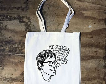 Louis Theroux - I wondered sometimes - Tote bag