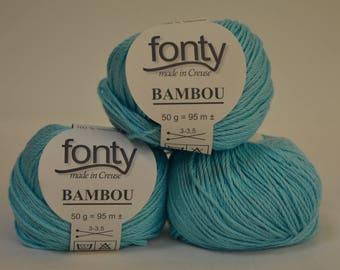 "Bamboo Fonty ""Bamboo"" blue"