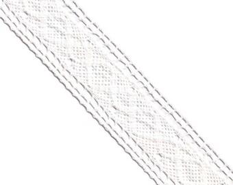 15 Yards Elastic Crochet Trim