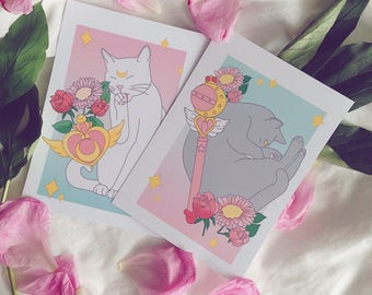 Sailor Moon Cats, Artemis und Luna
