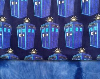 Tardis Fleece Blanket/ Doctor Who / Tardis / Doctor who blanket