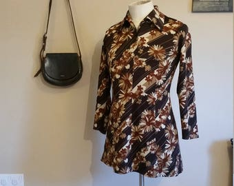 60s crimplene dress