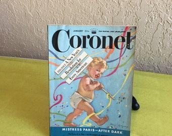 Vintage Coronet Magazine 1950