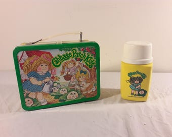 1983 Cabbage Patch Kids Lunch Box with Thermos