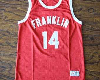 "Earl ""The Goat"" Manigault #14 Franklin High Basketball Jersey"