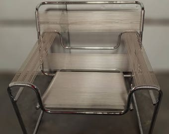 Pair of Wassily Plastic Arm Chairs