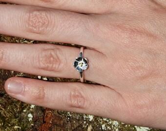 Ring 925 Sterling Silver * Flower * flower * flower * ring sterling silver