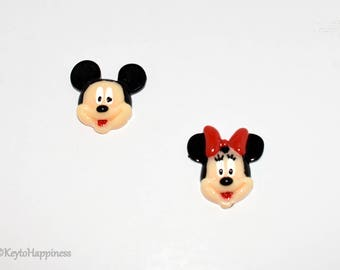 Mickey and Minnie Mouse Resin R445