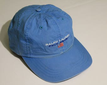 authentic Polo Sport Ralph Lauren rare vintage baseball cap hat one size USA