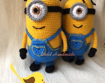 Minion, amigurumi, pop