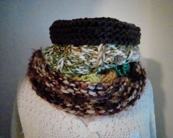 (25) cowl snood scarf