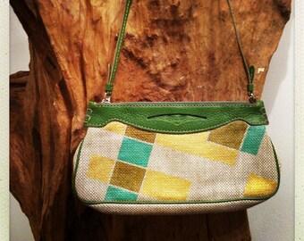 Handpainted Tod's Vintage Handbag