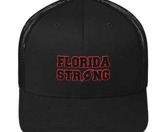 Florida Strong Hat - Hurricane Irma Trucker Cap