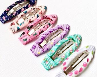 Baby hair clips, toddler hair clips, Hair clips set, hair clips, snap clips, girl hair clips