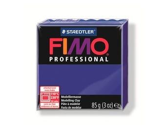 Polymer clay Fimo Pro 85 g - UltraMarine No. 33