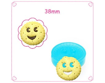 FIMO - smiling cake Silicone molds