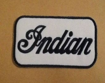 Indian embroidered iron on patch.