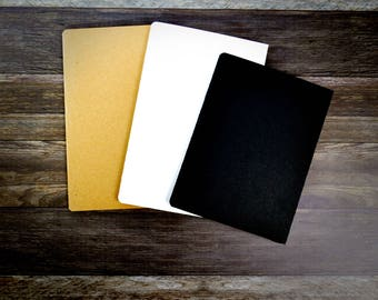 Noteobook Folder - Travelers Notebook Folder - 2 Pocket Folder - Various Sizes - Many Colors