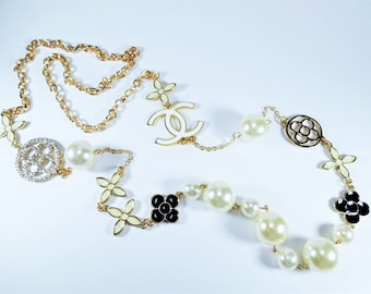Designer Inspired Charm Necklace