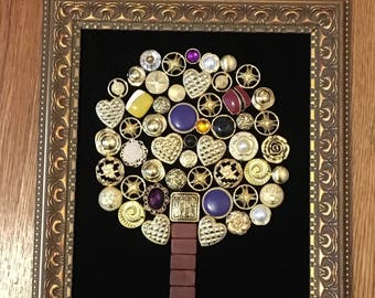 Framed Jewelry Art
