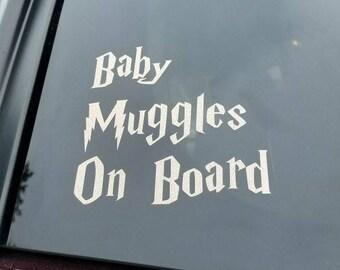 Baby Muggle Decal