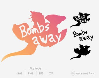 Tracer Overwatch  Bombs away ultimate clipart vector graphics,digital images, SVG, EPS, png, DFX for cutting
