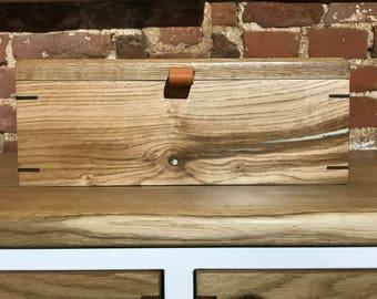 Premium oak utility box