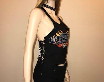 Harley Davidson Corset Top Size S