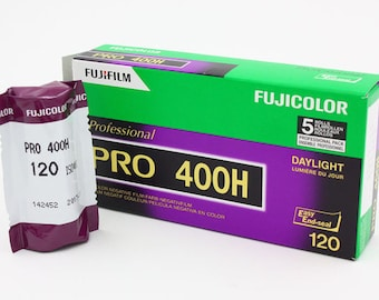 Fuji Pro 400H 120 Color Film (Single roll)