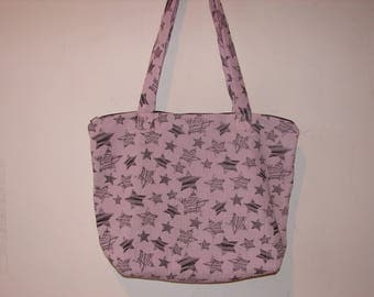 Pink bag with star