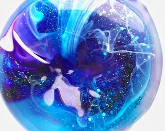 Glitter slime // galaxy slime // stretchy slime // sensory toy // desk toy // stress ball // party favor