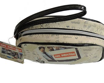 ONE DIRECTION make up cosmetic bag with mirror