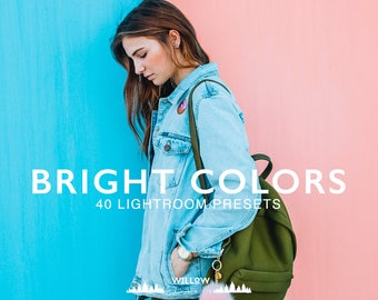 Bright Pack 40 Brightening Lightroom Presets for Professional Editing Results in Adobe Lightroom