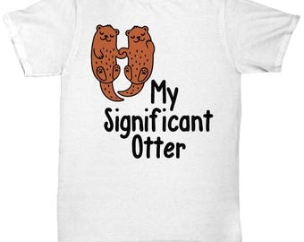 Otter Tee Shirt- Cool Tee Shirt Graphic Design