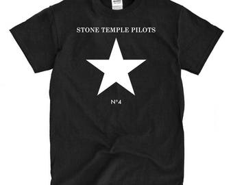 Stone Temple Pilots #4 Black T-shirt