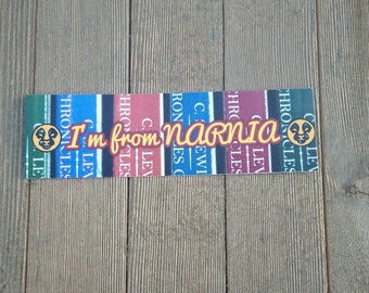 I'm from Narnia Bookmark