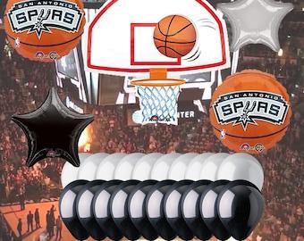 San Antonio Spurs 25 Piece Balloon Set