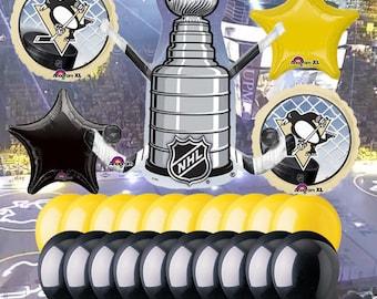 Pittsburgh Penguins 25 piece Balloon Kit